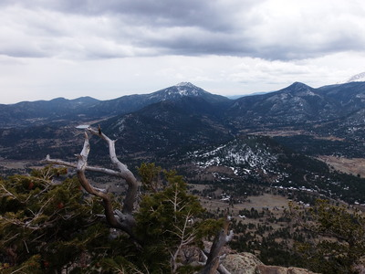 2014-04-19 Twin Sisters from Deer Mtn summit