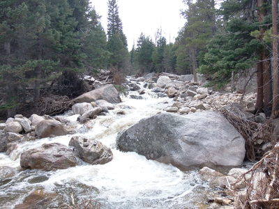 2014-05-18 North St Vrain Creek at Wild Basin