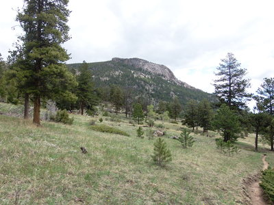2014-05-26 Sheep Mtn from Cow Creek Trail