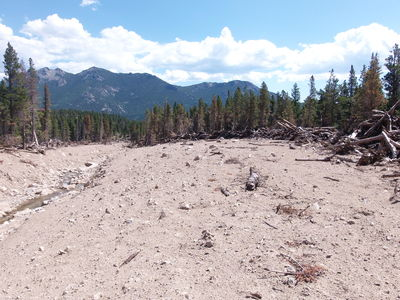 2014-07-05 Cabin Creek mudslide