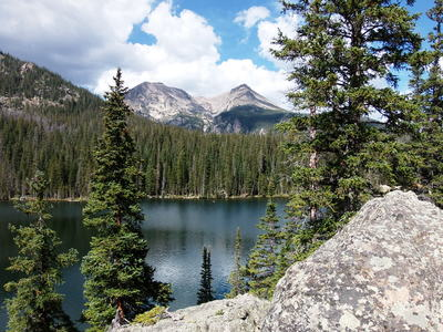 2014-09-14 Stones Peak from Fern Lake