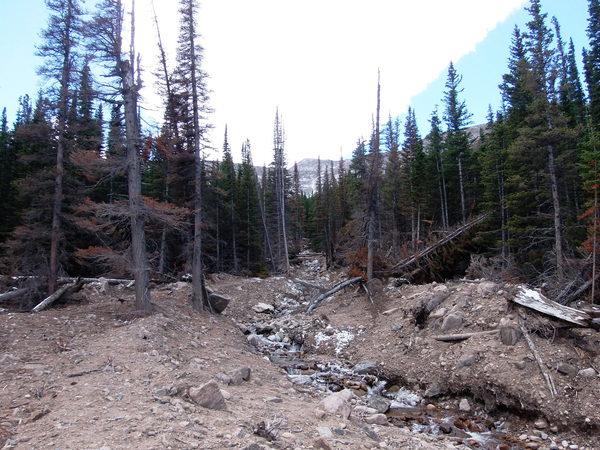 2014-10-04 Boulder Brook landslide