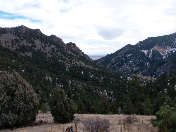 2014-12-21 Eldorado Canyon from Eldorado Canyon Trail