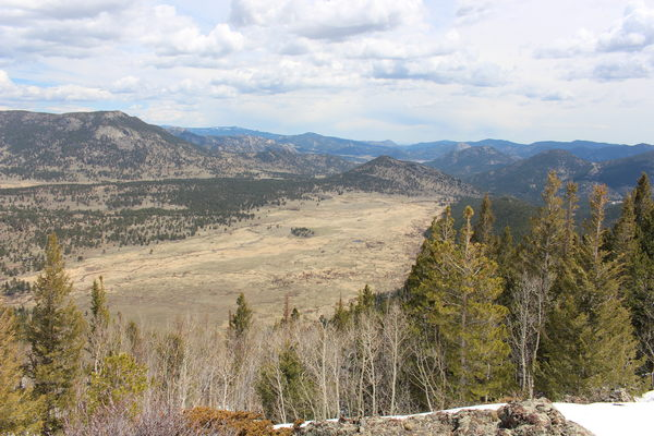 2015-05-02 Moraine Park from Steep Mtn.