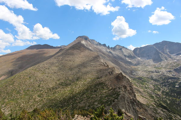 2015-08-30 Storm Peak, Longs Peak and Keyboard of Winds from Half Mtn