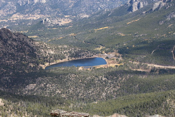 2015-10-05 Lily Lake from Estes Cone summit