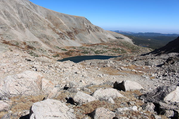 2015-10-12 Blue Lake from near Divide