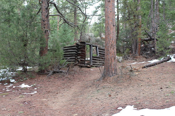 2016-04-23 Old Cabin off Coulson Gulch Trail