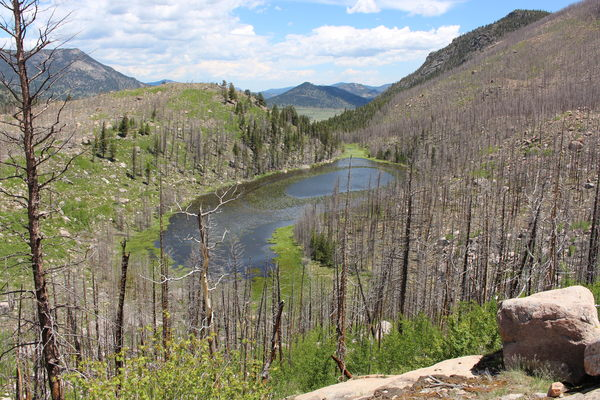 2019-06-19 Cub Lake from Mill Creek Trail