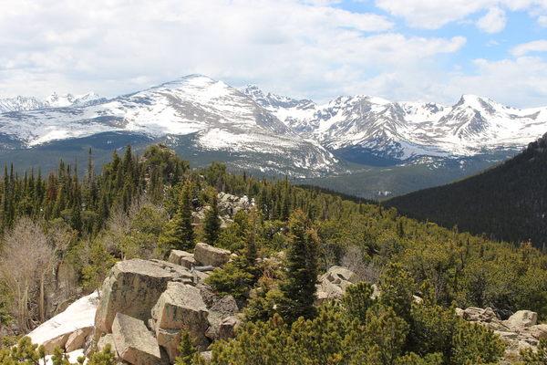2021-05-28 Mount Audubon from Peekaboo Peak