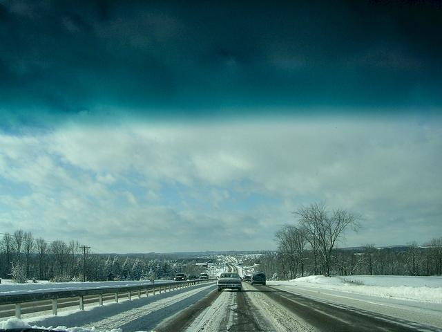 Winter Highway (photo courtesy of Gracey)